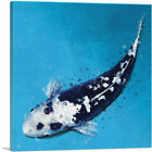 ARTCANVAS Kawarigoi Koi Carp Fish Japan China Asia Canvas Art Print