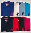 NEW Mens BH Polo Shirt Top, Short Sleeve Pique Designer T-Shirt Tee Holiday Golf