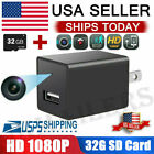 HD 1080P Hidden Mini Spy Camera Charger Adapter Home Security Night Vision 32GB $14.98 USD on eBay