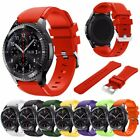 Silicone Watch Band Strap Wristband  for Samsung Galaxy Gear S3 Frontier Classic image
