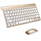Waterproof 2.4G Wireless Keyboard & Mouse Set w/ USB Receiver For Mac Pc Laptop