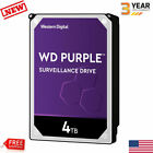 WD Purple 1-8 TB Surveillance Hard Disk Drive HDD 7200 RPM SATA 6 Gb/s 256MB Lot