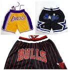 Orlando Magic Boston Celtics Los Angeles Lakers Vintage Mens Shorts S M L XL 2XL