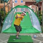 1M/2M Foldable Golf Hitting Cage Training Aids Indoor Outdoor Sports Golf Cage S