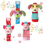 Animal Baby Watch Toys Baby Rattle Fashion Gift Kids Foot Infant Wrist Bell FM