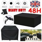 Waterproof Patio Garden Furniture Cover Outdoor Large Rattan Table Cube Sofa Uk