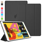 Slim Translucent Folding Stand Cover Case For iPad 9.7 6th 5th Gen Air Pro 10.5