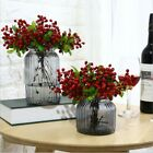 Artificial Flower Fake Berries Blueberry Fruit Wedding Home Office Decor