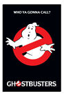 Laminated Ghostbusters Logo Who Ya Gonna Call Poster Official Licensed 24x36""