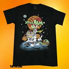 New Space Jam Tune Squad Looney Tunes Black Bugs Bunny Mens T-Shirt