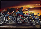 David Mann Poster Print - Harley Davidson - Wall Art Decor - Various Sizes $17.99 USD on eBay