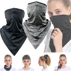 Half Face Mask Scarf Balaclava Motorcycle Cycling Neck Cover Sun Uv Protection