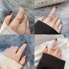 New Fashion Adjustable Ring 925 Sterling Silver Womens Girls Jewellery Gift Uk