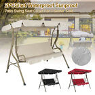 3 SEATER GARDEN SWING CHAIR SEAT HAMMOCK SWINGING TERRACE CANOPY BENCH