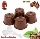 UK Refillable Coffee Capsule Cup For Dolce Gusto Nescafe Reusable Filter Pod Pro