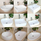 Bathroom Ceramic Vessel Sink Art Basin Bowl Porcelain Vanity Modern White 8 Styl