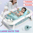 Newborn Baby Pet Shower Portable Foldable Bath Tubs Non-Slip Folding Safety