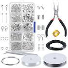 Jewellery Making Findings Kit Wire Pliers Set Starter Tools Necklace Repair Tool