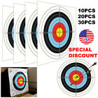 For Bow Arrow Targets Paper Sticker Shooting Training Rifle Pistol Archery NEW