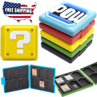 Nintendo Switch Game Case Holds 12 Cartridges Waterproof Ships From USA