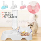 Automatic Pet Food Bowl & Water Drink Dispenser Dog Cat Feeder Water Bowl Dish