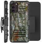 Holster Case For Galaxy Note20 / Note20 Ultra 5G Phone Cover - CAMO BRANCHES