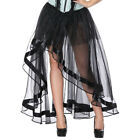 Women's Sexy Fancy Dress Tulle Skirt Cosplay Ghost Bride Goth Punk Party Costume