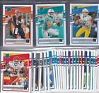 2020 DONRUSS FOOTBALL RATED ROOKIES RC'S 301-350 BURROW TUA # PICK YOUR CARD