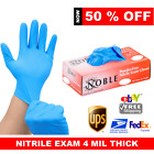 GLOVES NITRILE  10-20 -50 -100- 1000 LATEX- VINYL POWDER FREE  3 TO 6 MIL THICK