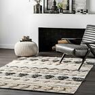 nuLOOM Hand Woven Tribal Mildred Area Rug in Gray