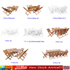 Wood Outdoor Furniture Table And Chair Set Garden Patio Kitchen Dining Furniture