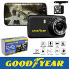 Goodyear 1080P Dual Lens Car DVR Front and Rear Camera Video Dash Cam Recorder