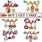 'Baby Hanging Pram Toy Activity Crib Spiral Pushchair Pram Stroller Bedding Toys