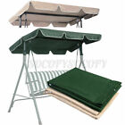 """66*45""""/77*43"""" Garden Swing Top Cover Anti-UV Replacement for Canopy Porc"""