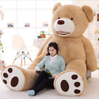 100cm-340cm Great Gift Giant Big Teddy Bear Plush Soft Toys Doll (Only Cover) UK
