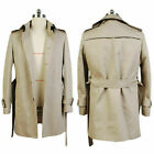 John Constantine Cotton Twill Trench Coat Cosplay Costume Jacket
