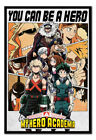 My Hero Academia You Can Be A Hero MAGNETIC NOTICE BOARD Inc Magnets | UK Seller