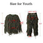 5 in 1 Ghillie Suit 3D Camouflage Hunting Apparel Woodland Desert Jungle HuntingGhillie Suits - 177870