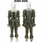 Halloween Cosplay Kids Chapter Two Pennywise Movie IT Costume Clown Clothing