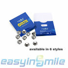 10Pcs Dental Orthodontic Lingual Buttons Orthodontic Supplies Metal EASYINSMILE