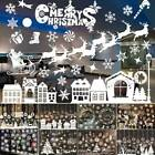 Christmas Wall Window Stickers Art Home Decor Xmas Decal Festival Decoration New