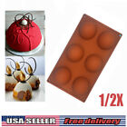 3d Half Ball Sphere Silicone Cake Mold Hemisphere Muffin Chocolate Baking Mould