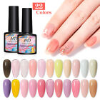 8ml MAD DOLL Nail UV LED Gel Polish Pink Jelly Gel Soak Off Nail Art Varnish DIY