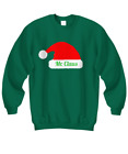 Mr. Claus Couples Sweatshirt | Christmas Holiday Ugly Xmas Sweater