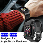 Sport Silicon Watch Band Strap Cover for Apple Watch iWatch Series 4 40mm 44mm