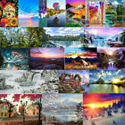 5D Nature landscape DIY full Diamond Painting Xmas Home Party Art Decor Kits