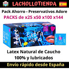 Pack Ahorro Preservativos Adore 100% Latex Natural