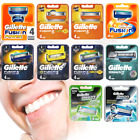 GILLETTE FUSION5 PROGLIDE POWER Proshield mach3 sensitive 100% GENUINE UK STk