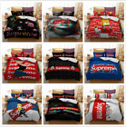 3D Supreme Series Printed Bedding 3/4 Piece Set Sheet Quilt Cover Pillow Case UK