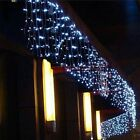 Christmas Garland LED Curtain Icicle String Light Decoration Droop For Garden